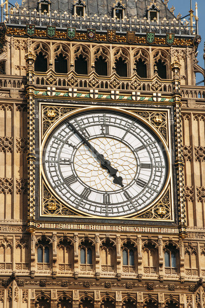 Big Ben clock face extremelly detailed Stock photo © ifeelstock