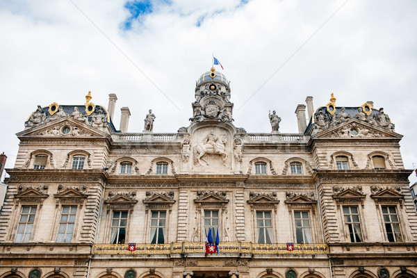 Lyon City Hall, Hotel de Ville Stock photo © ifeelstock