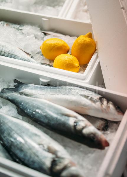 Fish ready to be sold Stock photo © ifeelstock
