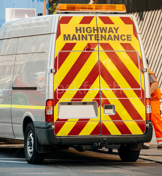 Highway maintenance van Stock photo © ifeelstock