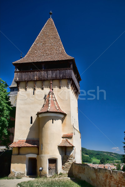 Fortress tower Stock photo © igabriela