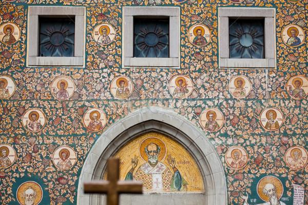Saint Nicholas Church in Iasi Stock photo © igabriela