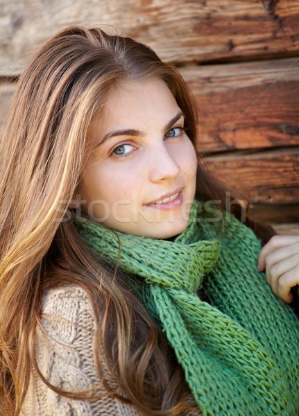 Beautiful woman outdoor Stock photo © igabriela