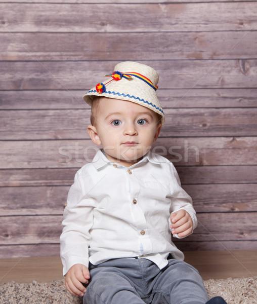 Romanian baby boy Stock photo © igabriela
