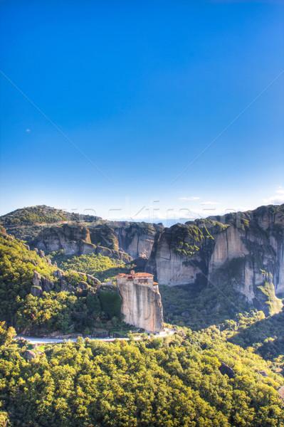 Panorama regione Grecia natura montagna culto Foto d'archivio © igabriela