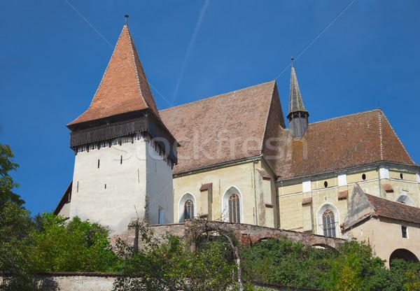 Kirche erste Welt Erbe Stock foto © igabriela