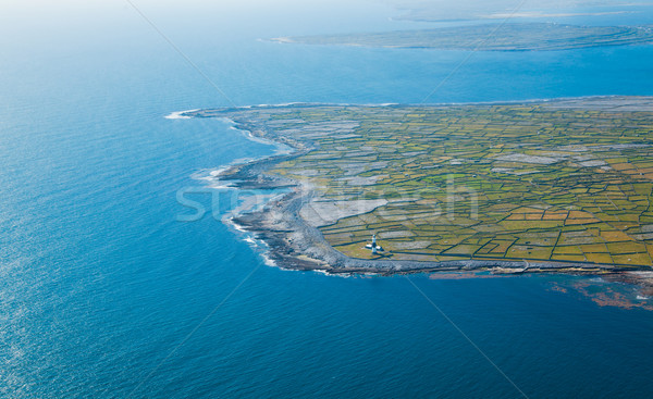 ストックフォト: 島 · 風景 · 灯台 · 島々 · アイルランド