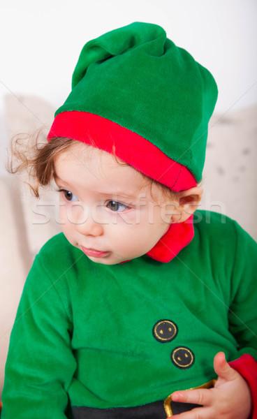 Elf baby boy Stock photo © igabriela