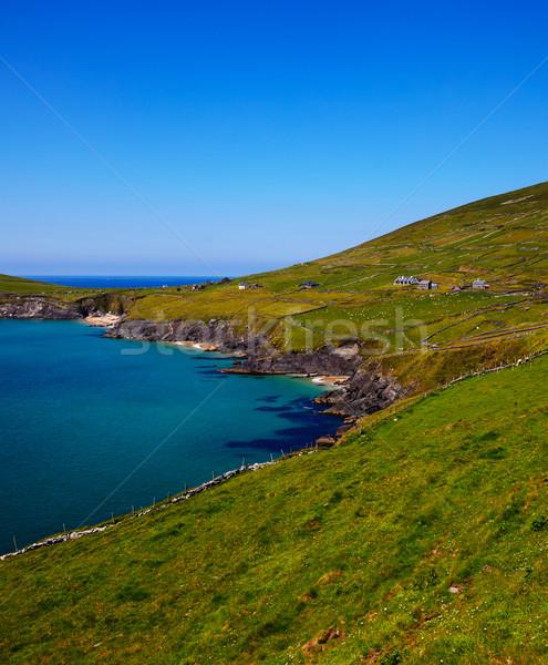 Coumeenole beach and coast of Dingle Peninsula Stock photo © igabriela