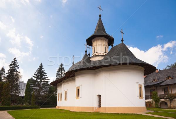 Church at Sihastria Monastery Stock photo © igabriela