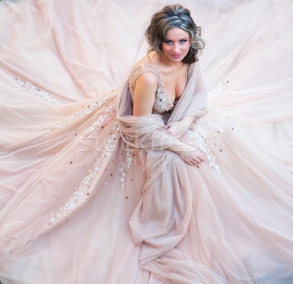 красивой невеста портрет великолепный молодые свадьба Сток-фото © igabriela