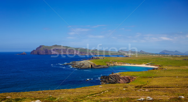 Clogher head, Sybil head and grotto Stock photo © igabriela