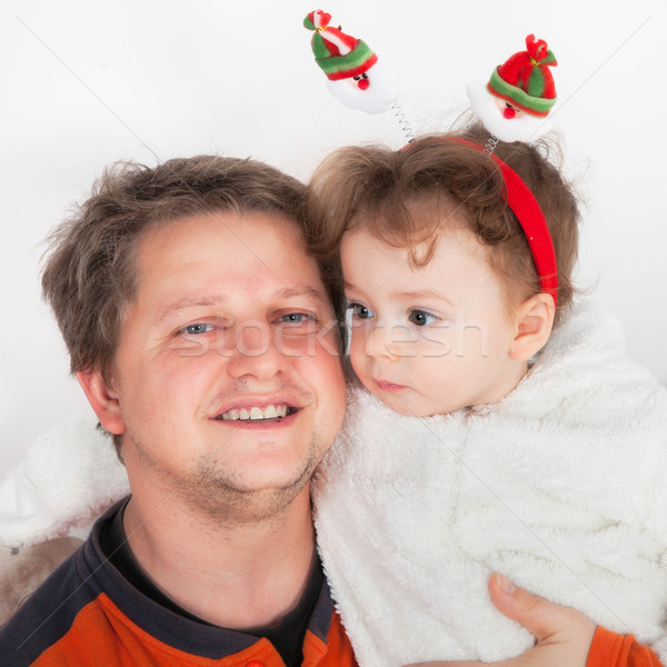Father and baby boy Stock photo © igabriela