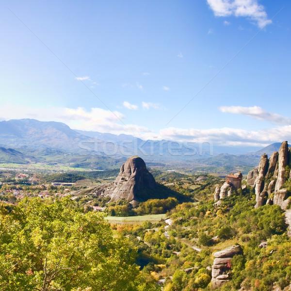Meteora Stock photo © igabriela