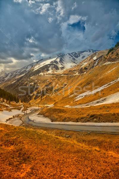 Transfagarasan Highway Stock photo © igabriela