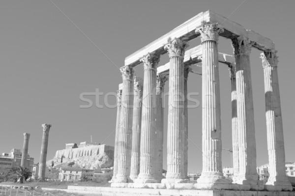 Temple of Zeus Stock photo © igabriela