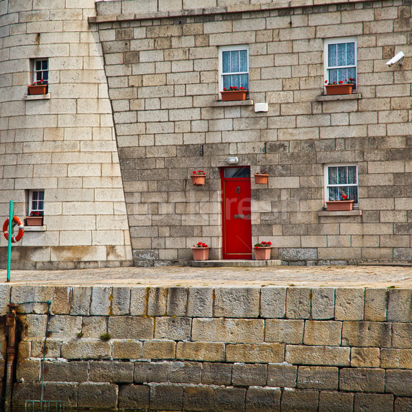 Detail of Howth Lighthouse Stock photo © igabriela