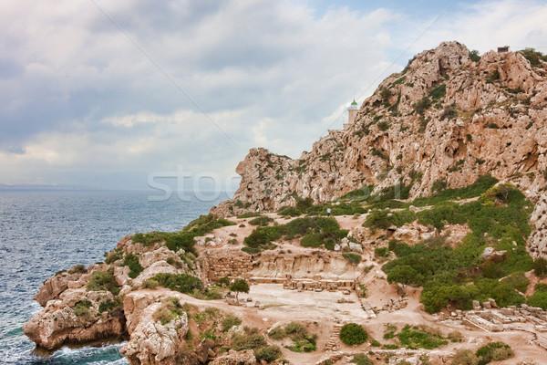 Sanctuary of Hera Stock photo © igabriela
