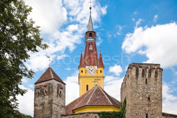 Cristian Fortified Church Stock photo © igabriela