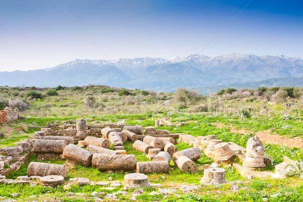 Ancient Aptera Stock photo © igabriela