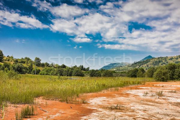 Stérile eau nature lac pollution environnement Photo stock © igabriela