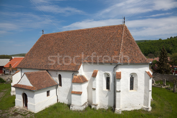Ghelinta Fortified Church Stock photo © igabriela