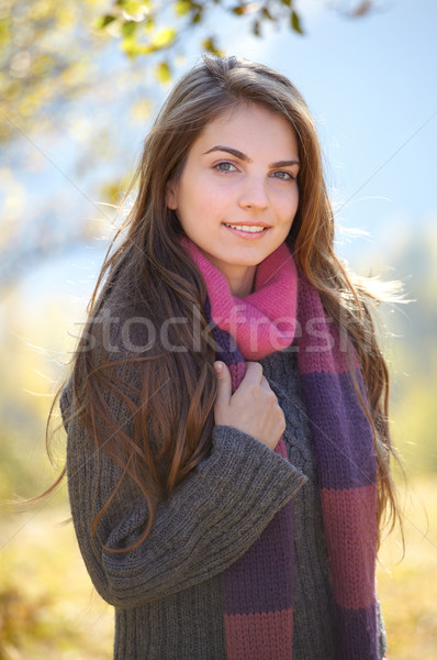 Young woman outdoor Stock photo © igabriela
