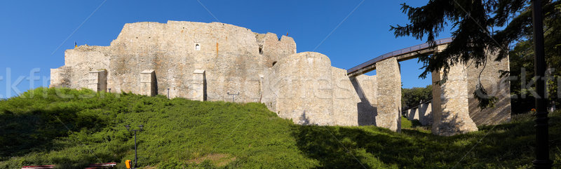 Buitenkant muren restauratie zomer architectuur Stockfoto © igabriela