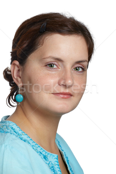 Beautiful young woman portrait Stock photo © igabriela