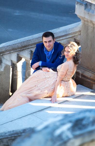 Bride and groom Stock photo © igabriela