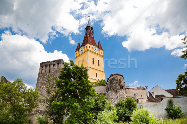 Cristian Fortified Church Stock photo © igabriela