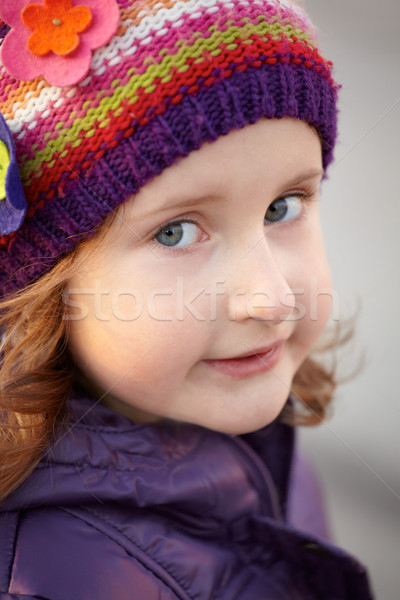 Little girl portrait Stock photo © igabriela