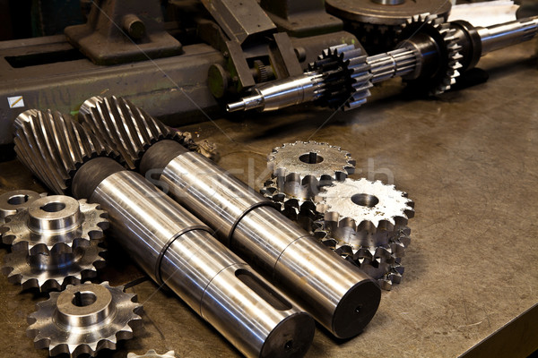 Mechanical parts Stock photo © igabriela