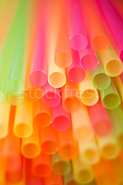 Drinking straws Stock photo © igabriela