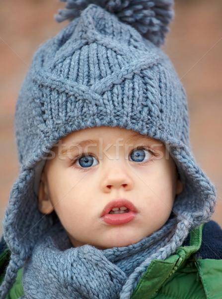 ребенка мальчика портрет мало Cute Сток-фото © igabriela