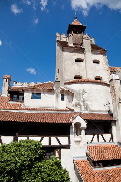 Korpa kastély gyönyörű terv nyár építészet Stock fotó © igabriela