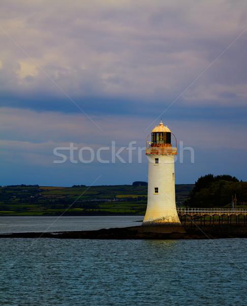 Tarbert Lighthouse Stock photo © igabriela