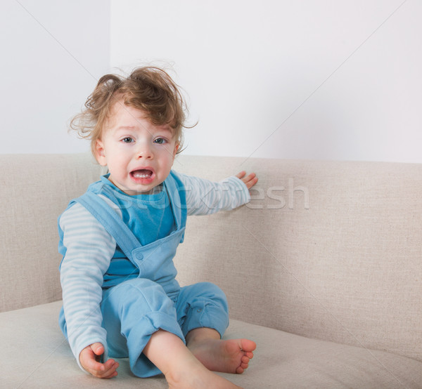 Crying baby boy Stock photo © igabriela