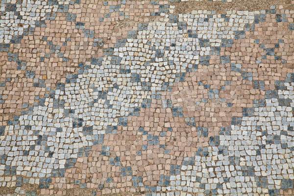 Mosaics at The Great Baths in Dion Stock photo © igabriela