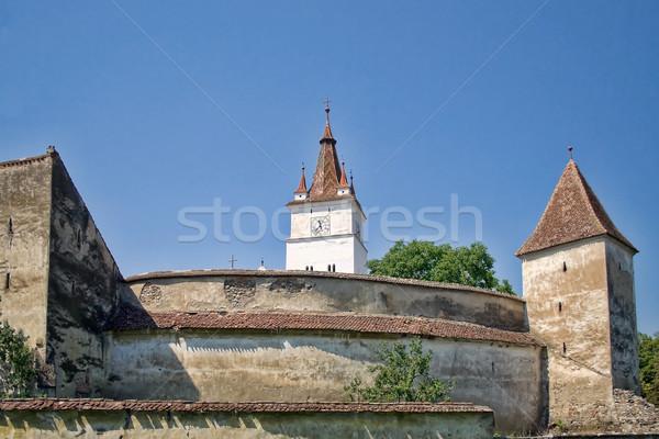 Harman Fortified Church Stock photo © igabriela