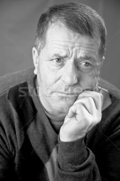 Middle aged man portrait Stock photo © igabriela