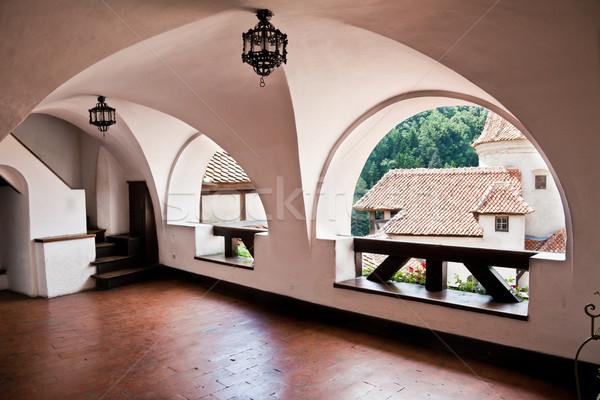 Kepek kale iç dizayn yaz mimari Stok fotoğraf © igabriela