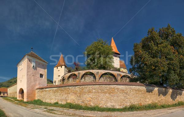 Biertan Fortified Church Stock photo © igabriela