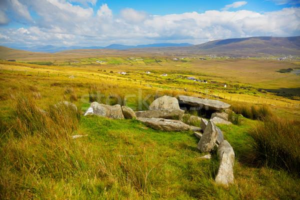 Slievemore dolmen Stock photo © igabriela