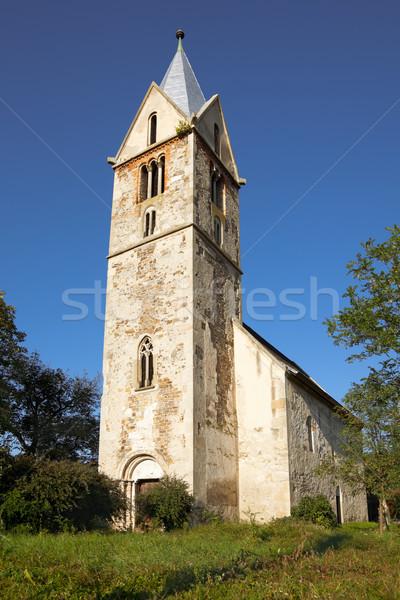 Santamaria Orlea Reformed Church Stock photo © igabriela