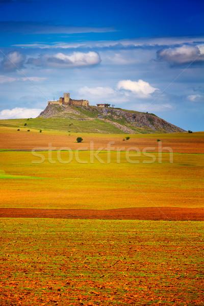 крепость весны регион Румыния области замок Сток-фото © igabriela