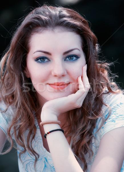 Young woman portrait Stock photo © igabriela