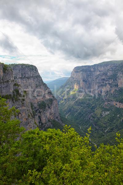Vikos gorge Stock photo © igabriela