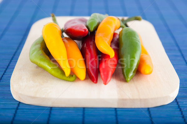 Chilly peppers Stock photo © igabriela