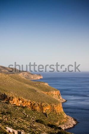 Península paisagem costa água natureza verão Foto stock © igabriela